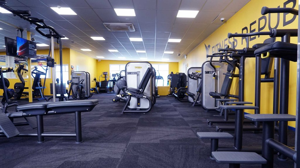 Equipment at our birkenhead gym.