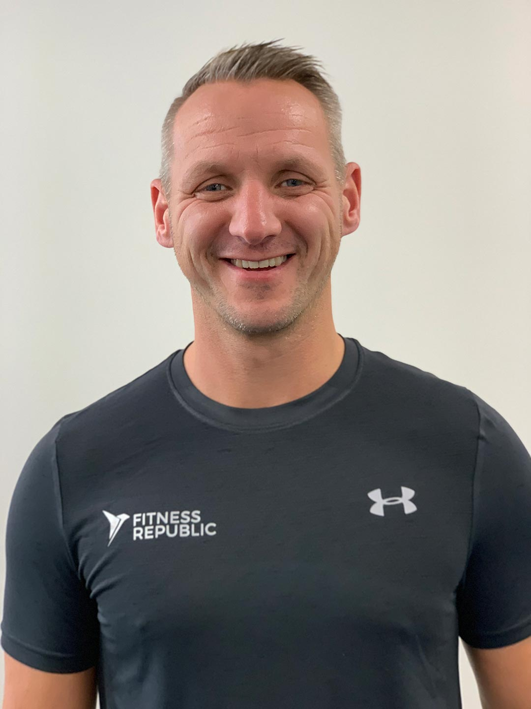 Birkenhead based personal trainer Ben. Working out of Fitness Republic.